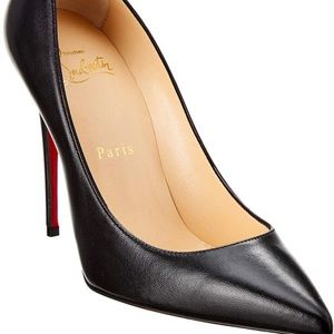 So Kate 100cm black leather.